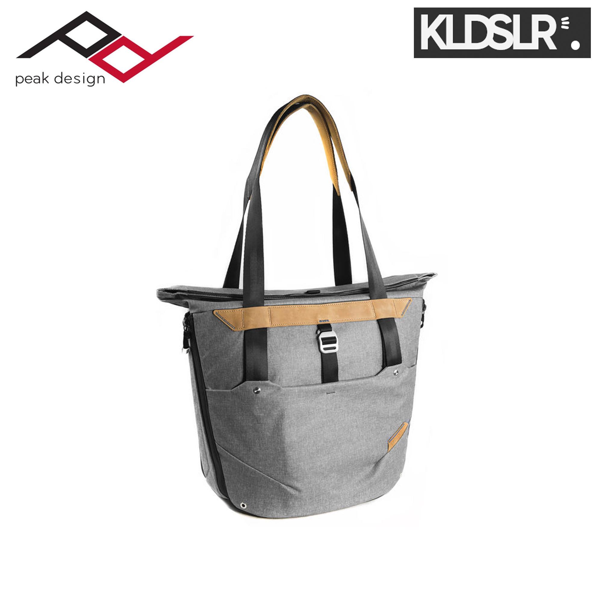 Ready Stock Peak Design Everyday Tote Bag Ash Bt 20 As 1 Lens Kit Nikon F Mount